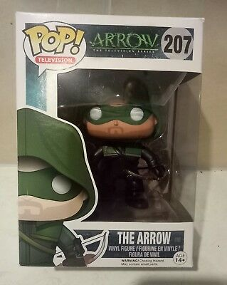 New Pop! Vinyl The Arrow Dc Comics  Figure Television 207 Series(Hard To Find)