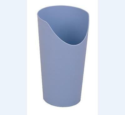 Easy to hold Nose Cutout Cup, Blue in Colour