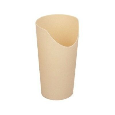 Easy to hold Nose Cutout Cup, Cream in Colour