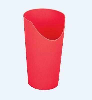 Easy to hold Nose Cutout Cup, Red in Colour