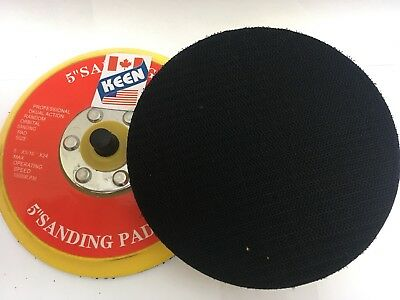 2 Pack- 5 Inch Diameter Hook-Face Disc Pad KEEN Abrasives 54397