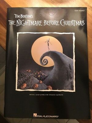 The Nightmare Before Christmas Piano Book