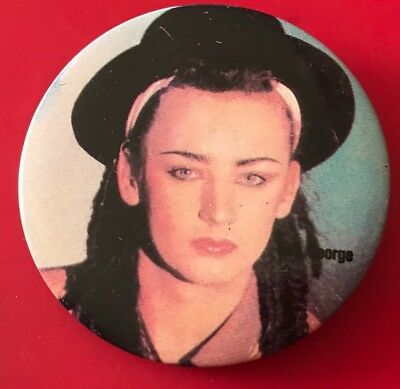 'Boy George' Vintage Badge