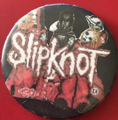 'Slipknot' Heavy Metal Band 1990s? Badge