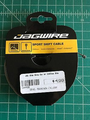 Jagwire Elite Ultra-Slick Derailleur Cable-Stainless-1.1x2300mm-SRAM//Shimano-New
