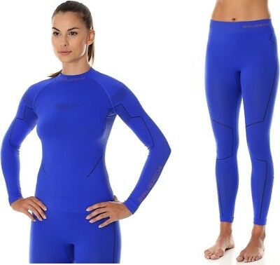 New BRUBECK Thermo Line Base Layer System Ladies Nilit Innergy (LS13100+LE11870)