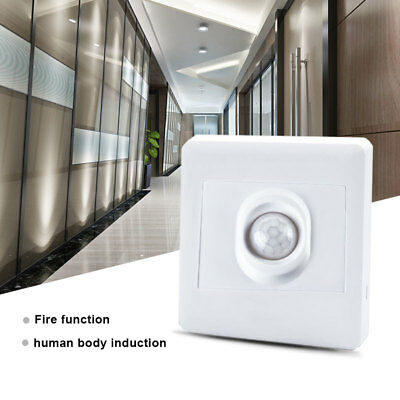 Infrared PIR Motion Sensor Switch for LED Light Recessed Wall Lamp AC 220V