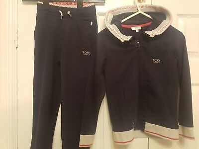 Boys Hugo Boss Tracksuit Age 8