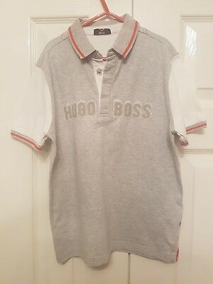 Boys Hugo Boss Polo Top Age 10
