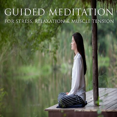 GUIDED MEDITATION X 2 CDs FOR STRESS & ANXIETY, RELAXATION + INSOMNIA