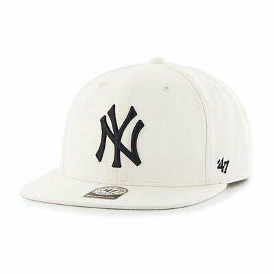 Gorra 47 Brand Mlb New York Yankees Captain Snapback No Shot Beige Hombre