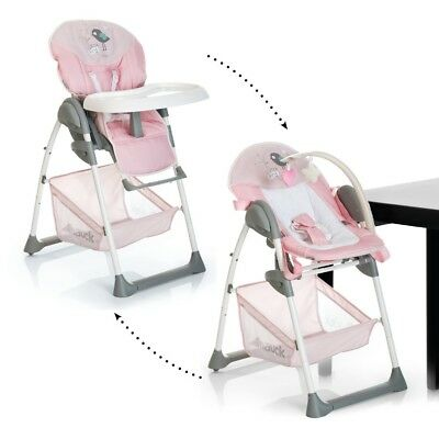 hauck sit n relax highchair pink COVERs ONLY and basket