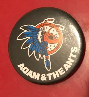 Adam And The Ants Vintage Badge