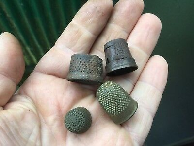 Four Detecting Found Thimbles/One Unusual