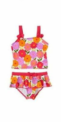 Gymboree Pretty Posies floral flower ruffle tankini swim suit swimsuit 5t 5 NWT