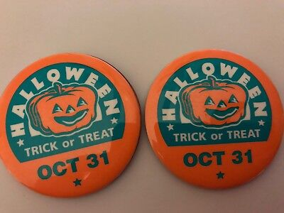 Halloween Trick Or Treat  Oct. 31 Badges(2).