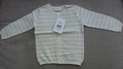 The little white company cotton cardigan 9-12 months