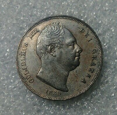 "1 Farthing Great Britain 1835 ""William IV"" UNC-"