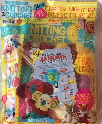 Let's Get Crafting Knitting And Crochet #88