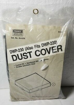 TANDY DWP-230 DWP-220 DAISY WHEEL PRINTER DUST COVER NEW Old Stock 26-537A