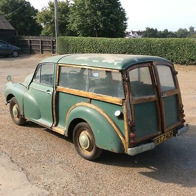 Barn Find Project Morris 1000 Traveller