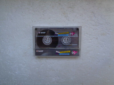 Audio Cassette BASF Colours of Sound 90 From 1989 - Fantastic Condition !!