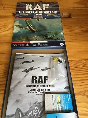 RAF the Battle of Britain 1940 Board Game