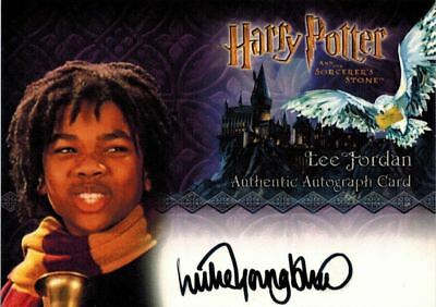 ~Harry Potter Sorcerer's Stone: Autograph / Auto of Luke Youngblood Lee Jordan