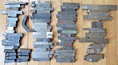"Lot of (74) 5/8"" Machinist Cutters Turning Tools - Vasco Supreme, Mo-Max, Rexaa"