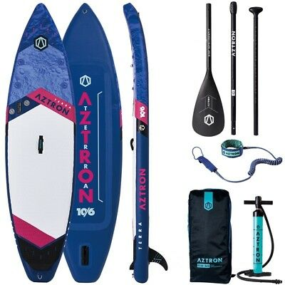 DOPPELKAMMER SUP AZTRON TERRA 10.6 aufblasbares Stand Up Paddle Board ISUP SET