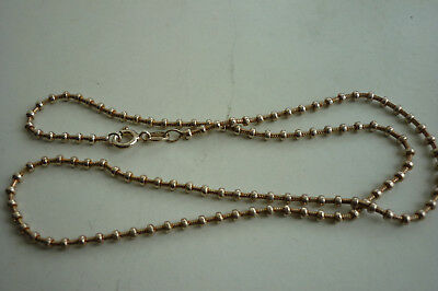 necklace collier  Sterling silver argent massif