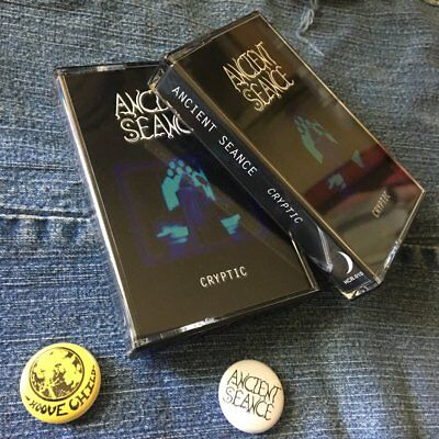 ANCIENT SEANCE - Cryptic Tape (NEW*LIM.100*US METAL*DEMON BITCH*BROCAS HELM)