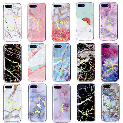 Ultra Slim Marble Soft TPU Silicone Back Case Cover For iPhone Xiaomi Huawei HTC