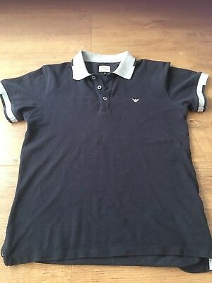 boys armani Polo Shirt Age 12