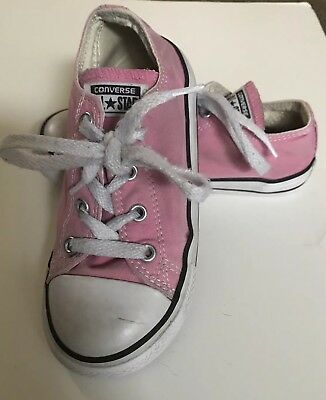 Converse Kids' Chuck Taylor All Star Girls pink Size 10