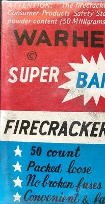 Warhead Super Bang Firecracker Box