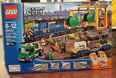 NEW Lego City 60052 Cargo Train  Sealed Retired New and in Sealed box