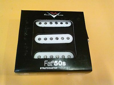 New Fender Custom Shop Fat 50's Stratocaster Strat Electric Guitar Pickup Set