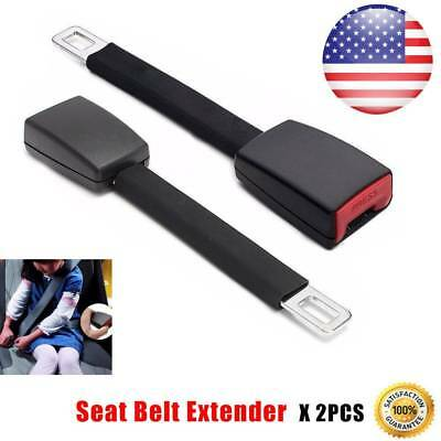 2Pcs Car Seat Belt Extender Extension Safety Buckle Clip Universal Adjutable Kid