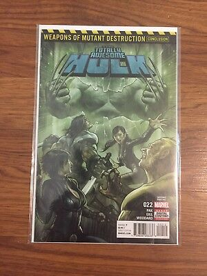Totally Awesome Hulk 22 second print NM -  First Appearance Weapon H