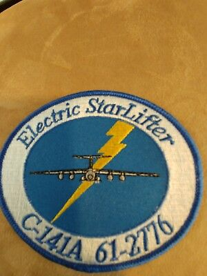 USAF C-141A Electric Starlifter Patch