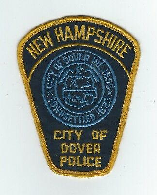VINTAGE DOVER, NEW HAMPSHIRE POLICE (CHEESE CLOTH BACK) patch