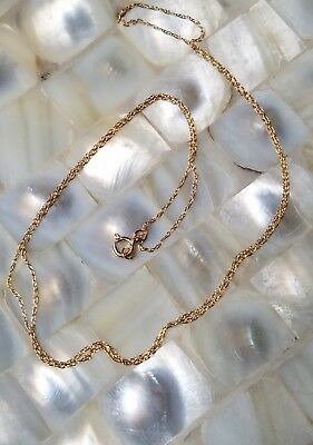 """New! 14k Solid Yellow Gold Necklace / Chain 18"""" 18 Inch 14 karat YG  jewelry"""