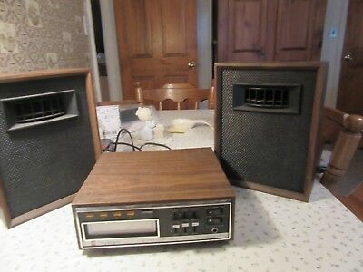 olympic 8-track stereo solid state tape player tested and working