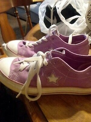 Womens Converse One Star Shoes Sz 7