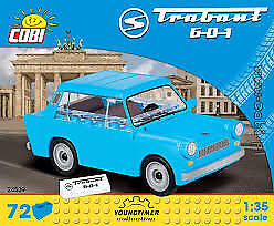 COBI 24539 YOUNGTIMER COLLECTION TRABANT 601 Scale 1:35  72el.