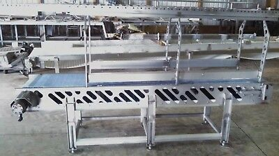 Stainless Steel Pack-Off Conveyor