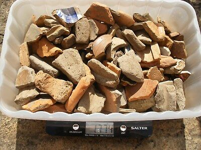 Roman Medieval & Later Broken Pieces Pottery Sherds Shards Found Detecting Finds