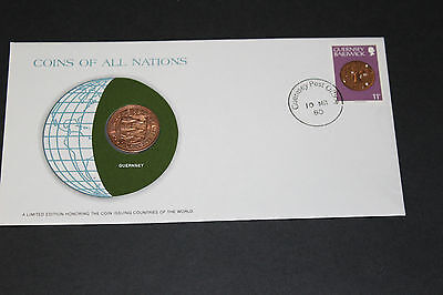 Guernsey Coins Of All Nations 1979 2 Pence Coin Unc