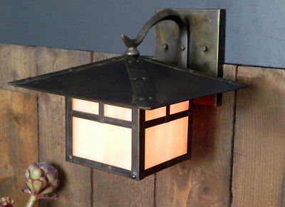Arts and Crafts Porch Sconce